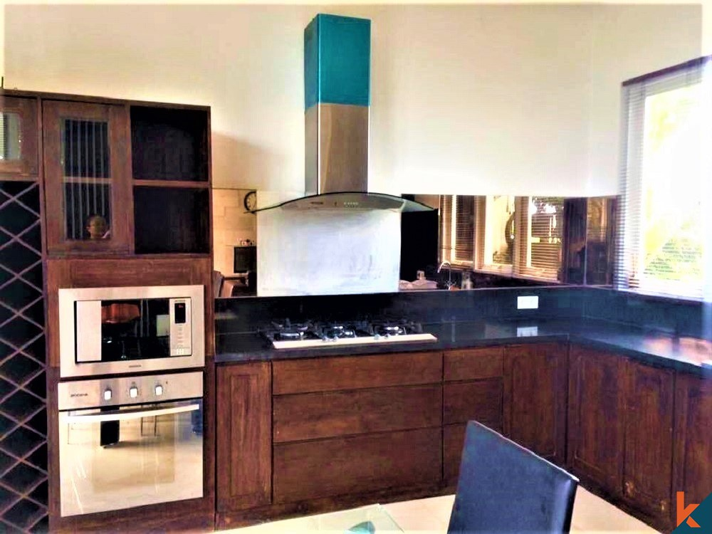 Amazing and Welcoming 3 Bedroom Villa in Berawa for Sale