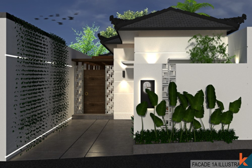 Charming Modern 2 Bedroom Villa in Ubud for Sale