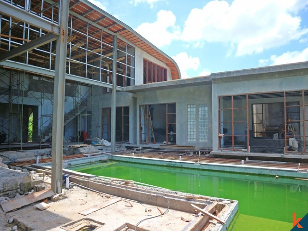 Soon to be Finished Beautiful Leasehold Villa in Pererenan for Sale