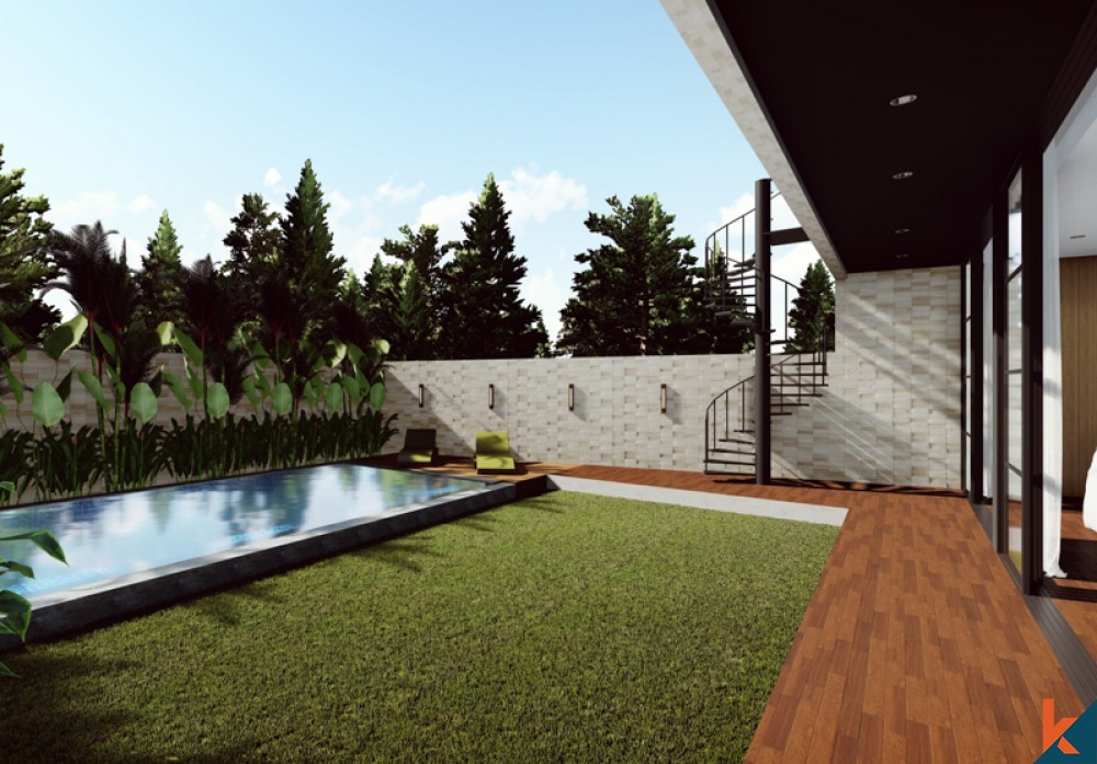 Upcoming Modern Project Villa for Sale in Pererenan