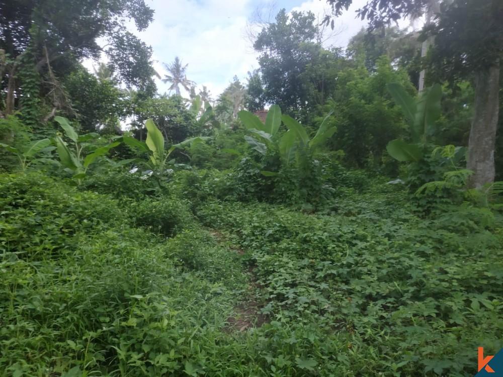 Beau 7 Are Land à Kedungu à vendre
