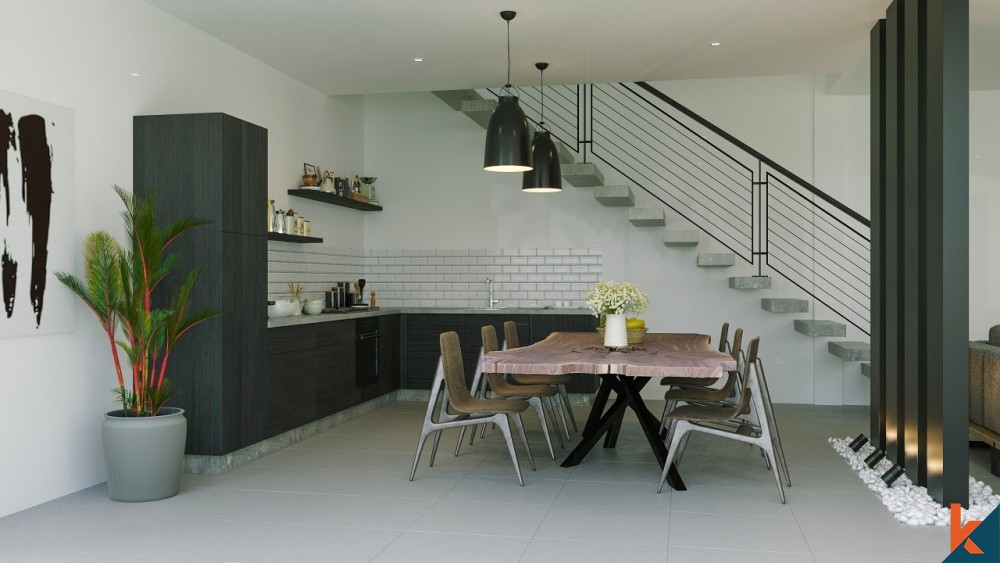 Modern Off Plan 4 Bedroom Leasehold Villa in Canggu for Sale