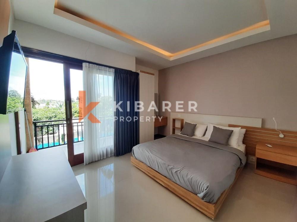 beautiful three bedroom villa in canggu