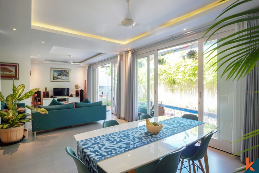 Beautiful Villa with Long Lease for Sale in Prime Location of Sanur