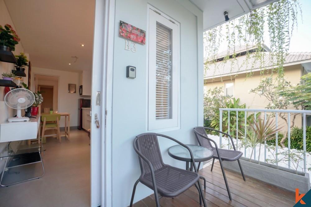 Charming Studio Mezzanine Dijual Dekat dengan Pantai di Sanur