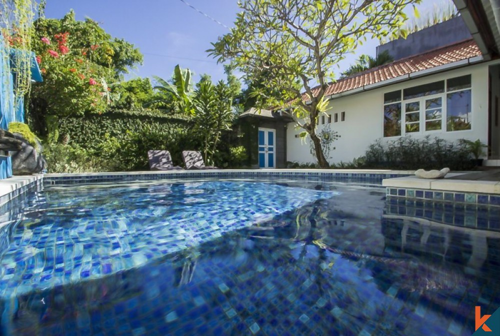 Beautiful Modern Mix Traditional Villa for Sale in the Heart of Seminyak