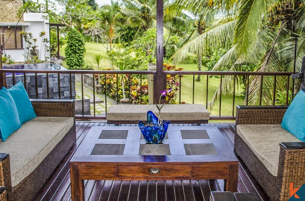 Stunning Five Bedrooms Villa with Spacious Land for Sale in Ubud