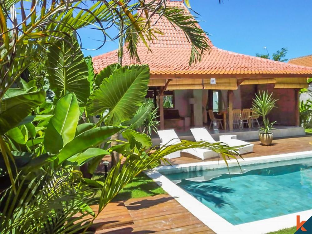 Dijual Villa Joglo Indah dan Santai di Ubud