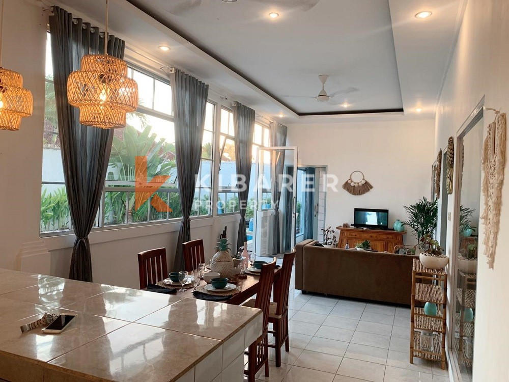 Modern Three Bedroom Villa with perfect location in Kerobokan ( will be available on April 2021 )