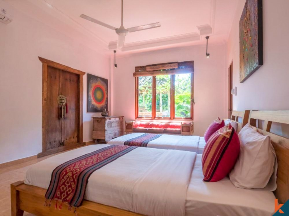 Perfect Five Bedrooms Villa for Sale in Central Ubud