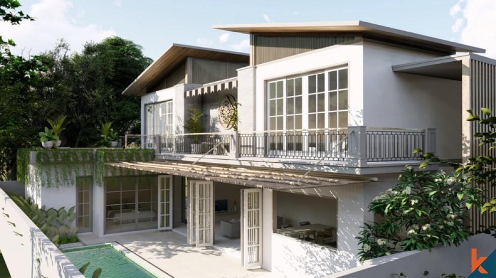 Villa moderne et élégante de trois chambres à vendre à Sanur
