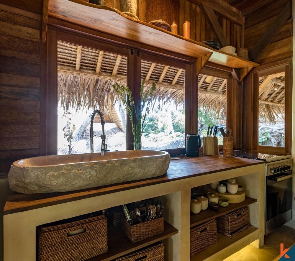 Leasehold Eco Villa Mewah Dijual di Eco-Village di Penestanan Ubud