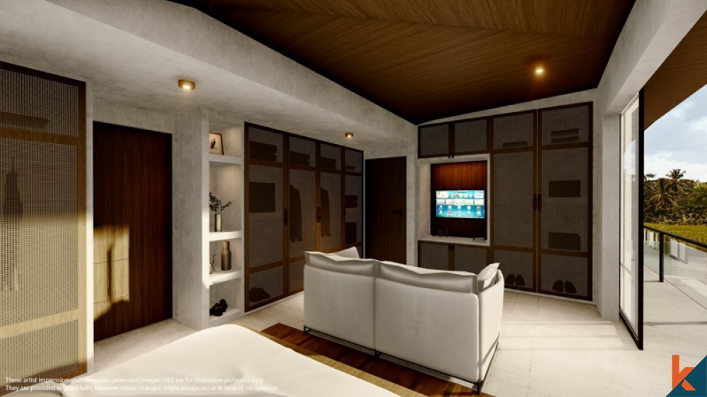 UPCOMING SMART TWO BEDROOMS VILLA FOR SALE NEAR THE OCEAN