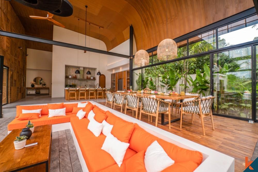 New Five Bedrooms Villa, New design in Pererenan