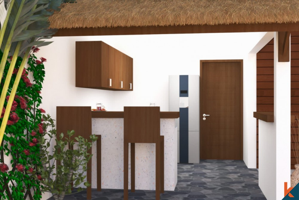 Upcoming Two Bedrooms Modern Joglo near the Beach of Berawa