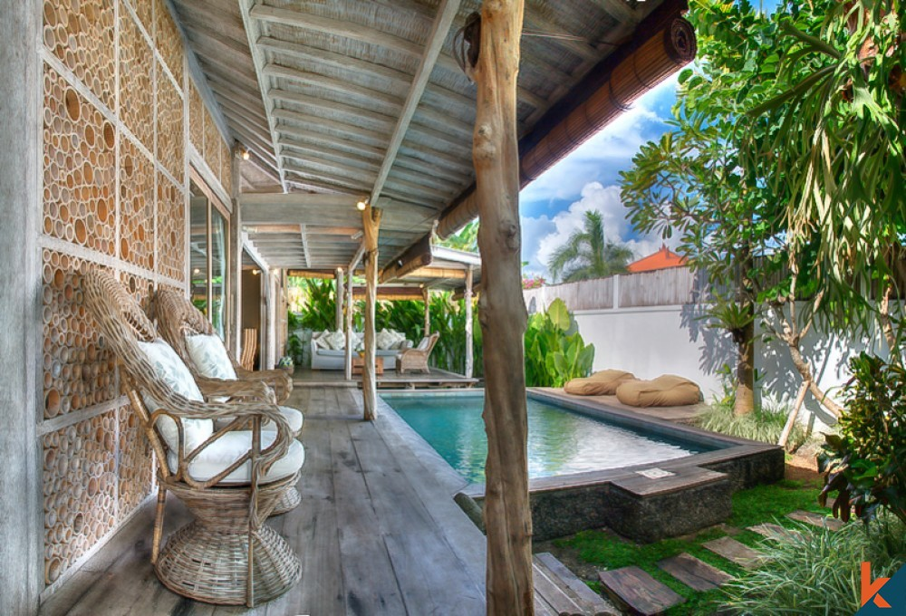 Charming and Unique Two Bedrooms Villa for Sale in Seminyak