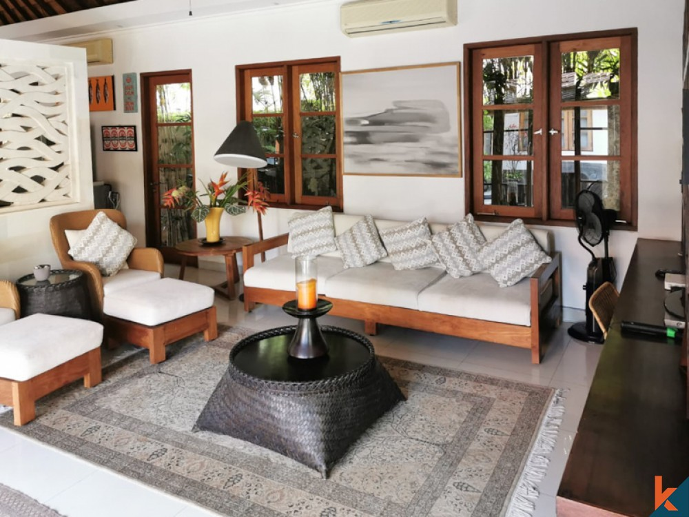Serenity Balinese Four Bedrooms Villa for Sale in Sanur