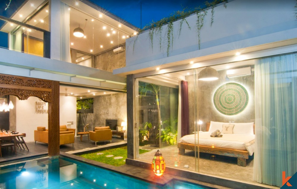 Modern Three Bedrooms Villa for Sale in Prime Location of Seminyak