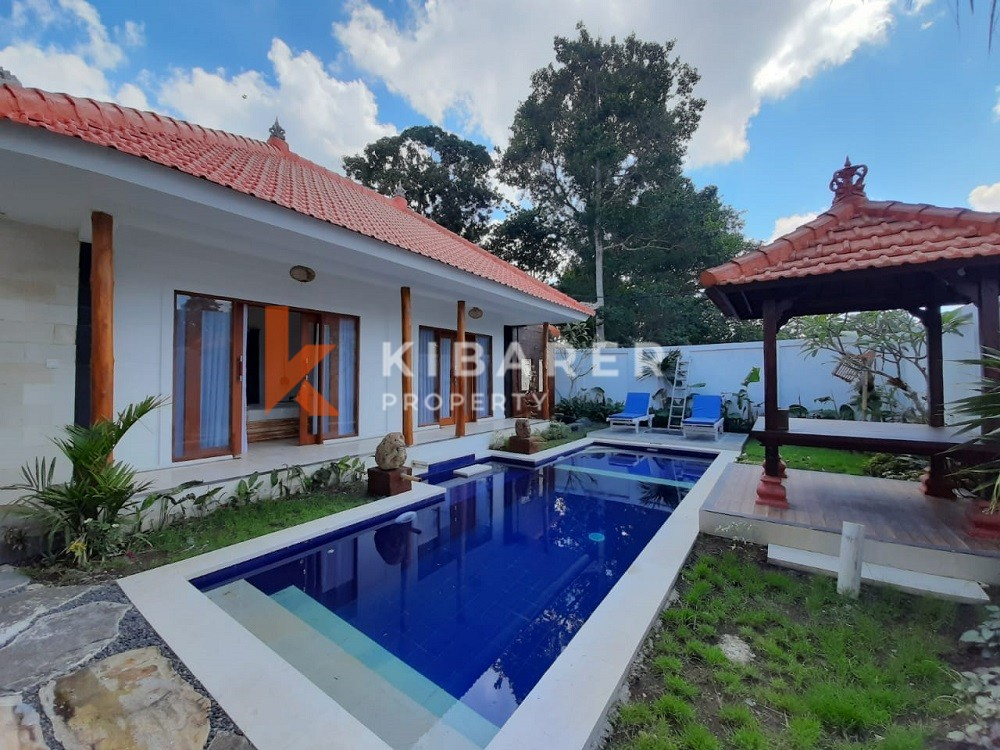 Three Bedroom Villa with full furnished located in Pererenan