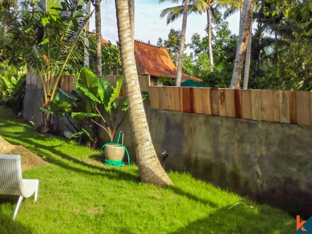 Comfortable Two Bedrooms Villa for Sale in Ubud
