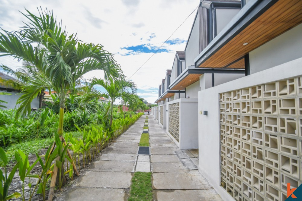 Beautiful New Project One Bedroom Villa for Sale in Canggu