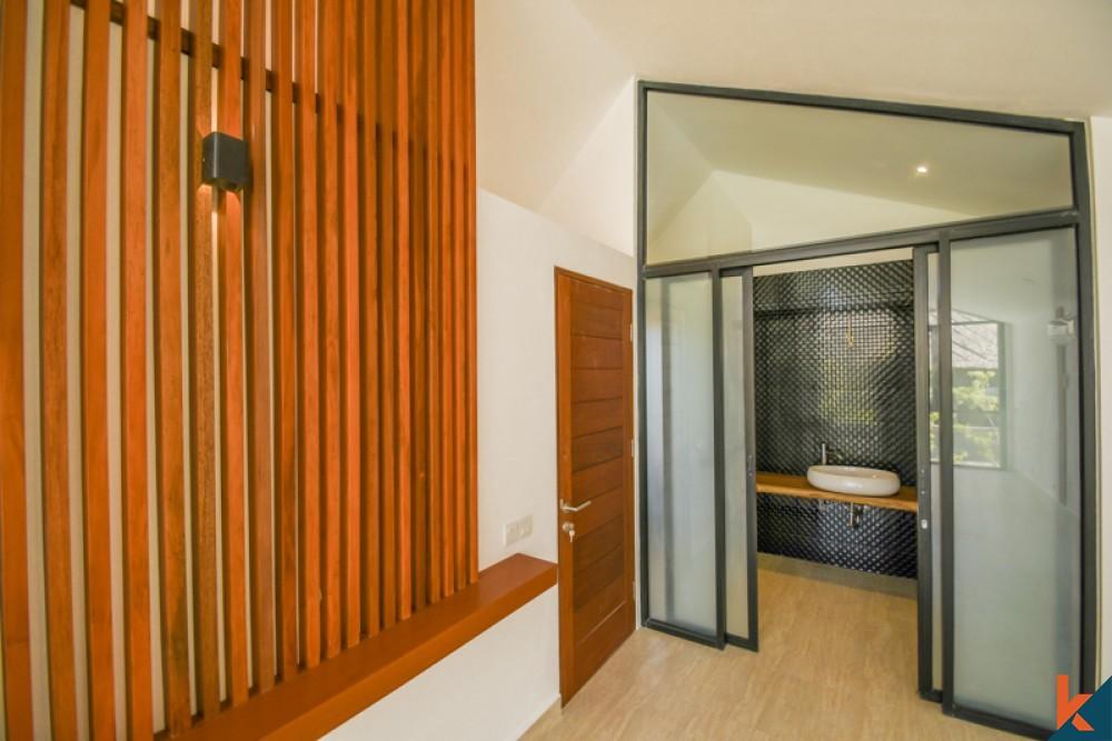 Villa Satu Kamar Tidur Proyek Baru Cantik Dijual di Canggu