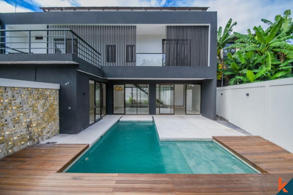 Beau nouveau projet de villa de trois chambres à vendre à Canggu