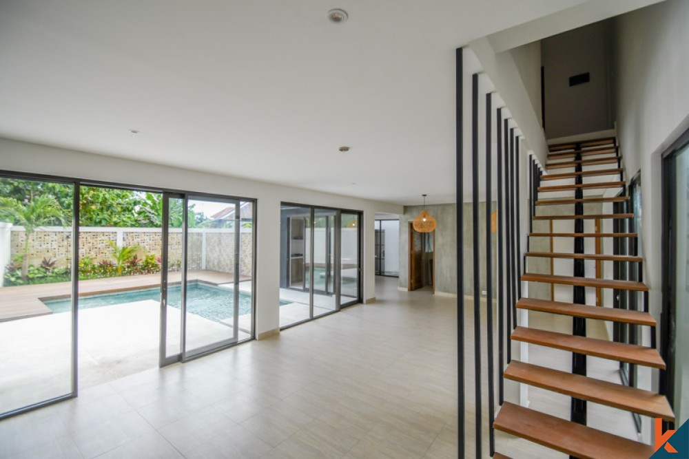 Beautiful New Project Three Bedroom Villa for Sale in Canggu