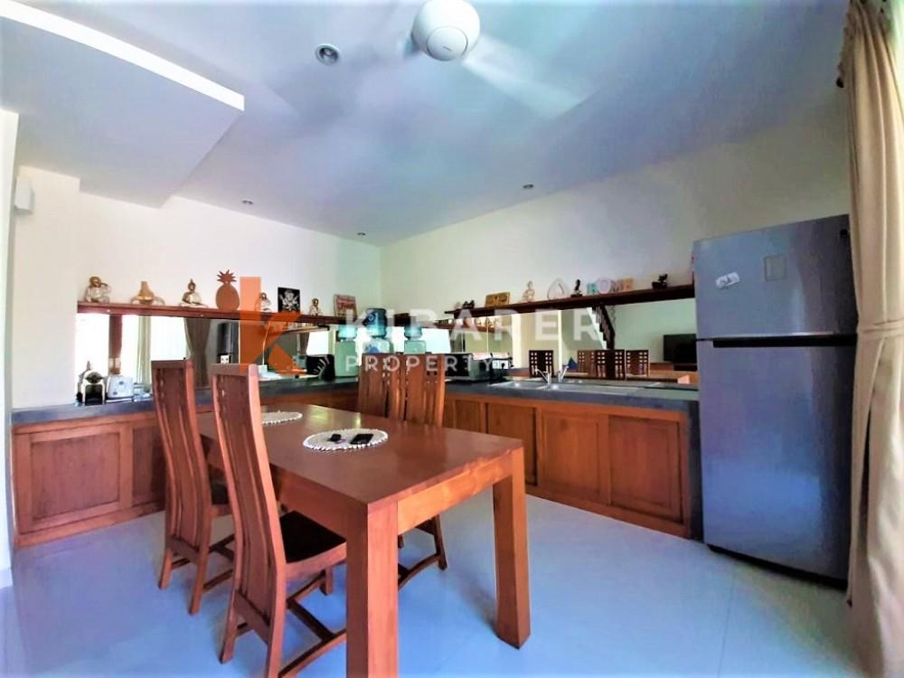 Charmante villa de vie fermée de deux chambres dans un emplacement privilégié à Pererenan