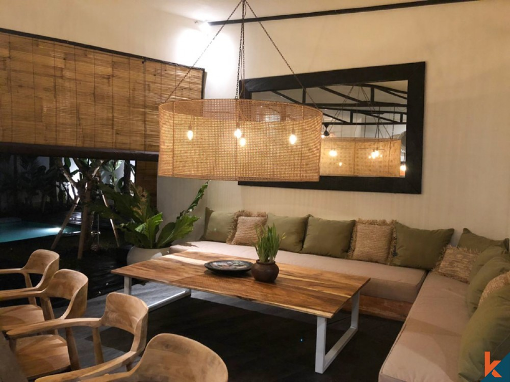 Comfortable Antique Three Bedrooms Villa for Sale in Tegal Cupek