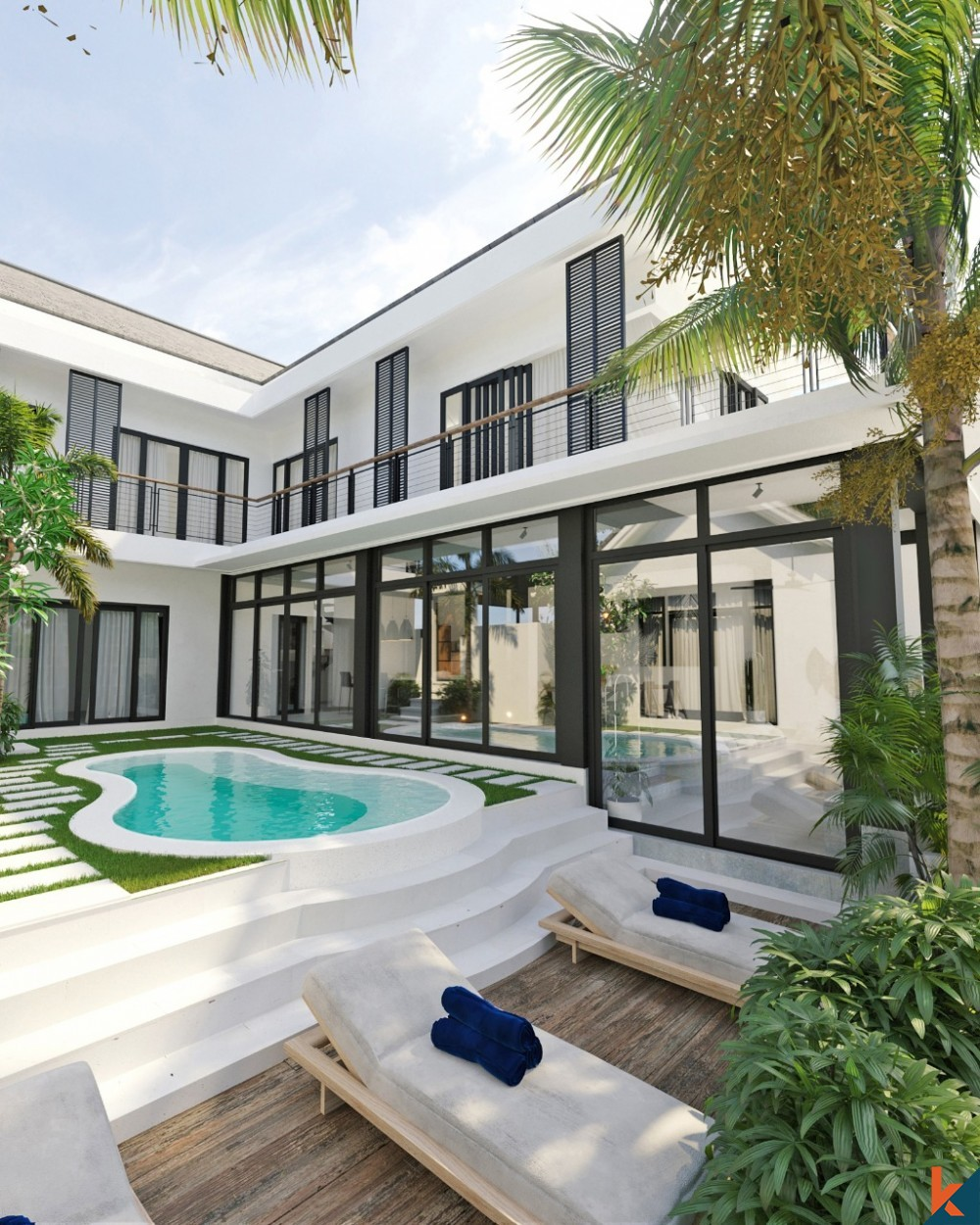 STYLISH MODERN 4 BEDROOM LEASEHOLD VILLA COMPLETE IN JULY 2021 IN KAYU TULANG
