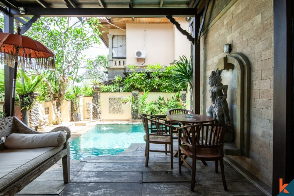 Balinese Three Bedrooms Villa for Sale in Pererenan