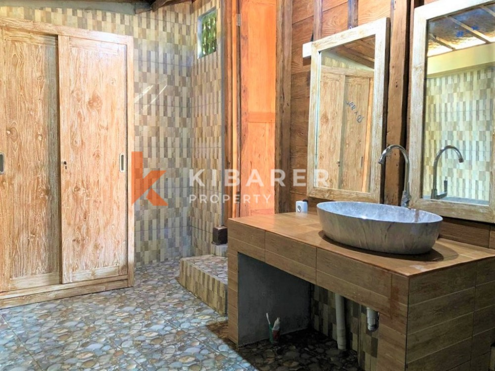 Brand New Two Bedroom Open living Villa With Rice Field View in Seseh