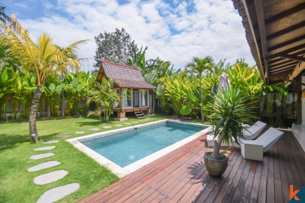 Beautiful Three Bedrooms Joglo for Sale in Ubud