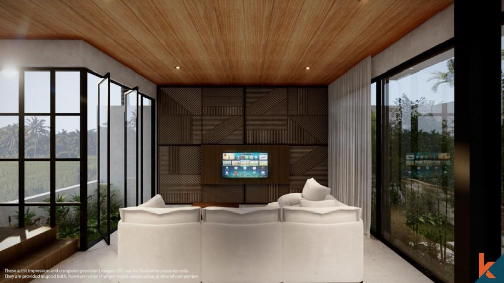 UPCOMING SMART THREE BEDROOMS ENCLOSED DUPLEX VILLA