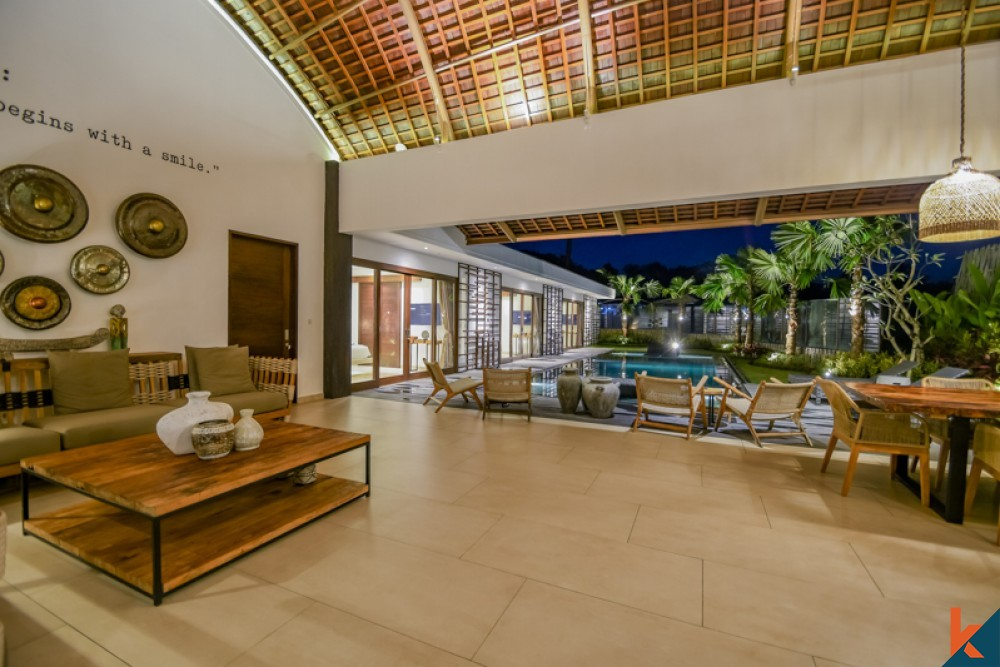 Luxury Brand New Villa with Ricefield View for Sale in Ubud
