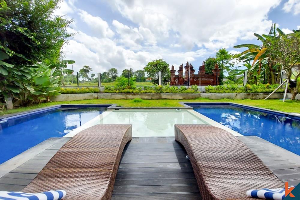Charming Three Bedrooms Villa for Sale in Umalas