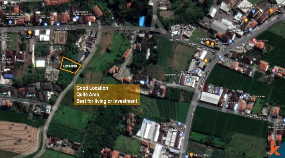 Amazing land with IMB and project for lease
