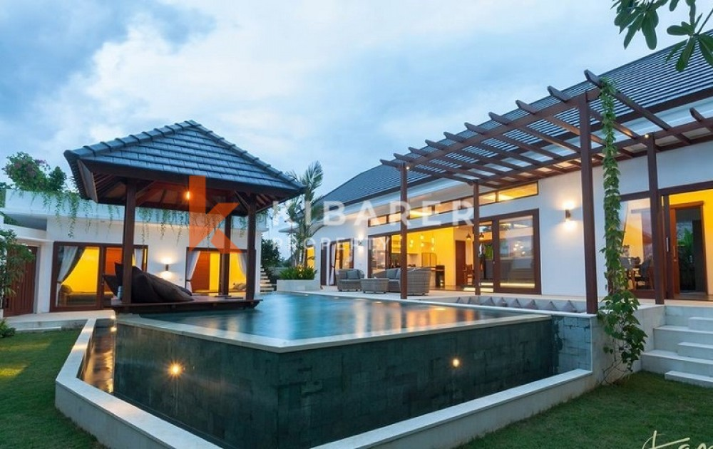 AMAZING OCEAN VIEW FIVE BEDROOMS ENCLOSED LIVING VILLA IN PERERENAN(available on may 2021)