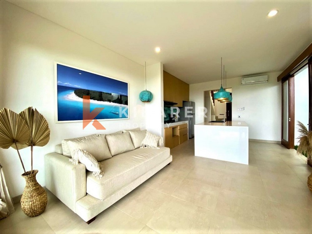 BRAND NEW ONE BEDROOMS OCEAN VIEW VILLA IN BINGIN