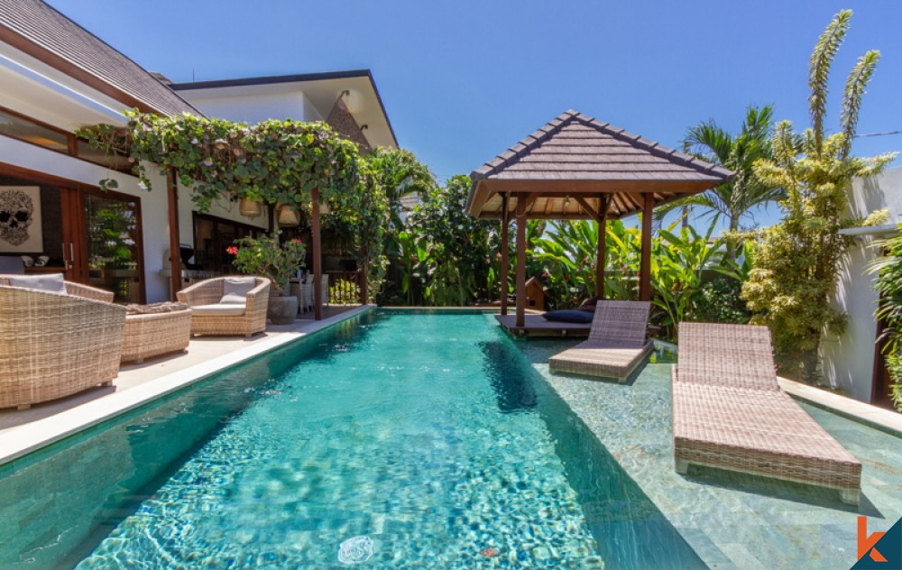 Amazing Ocean View Villa Walking Distance to the Beach for Sale in Pererenan