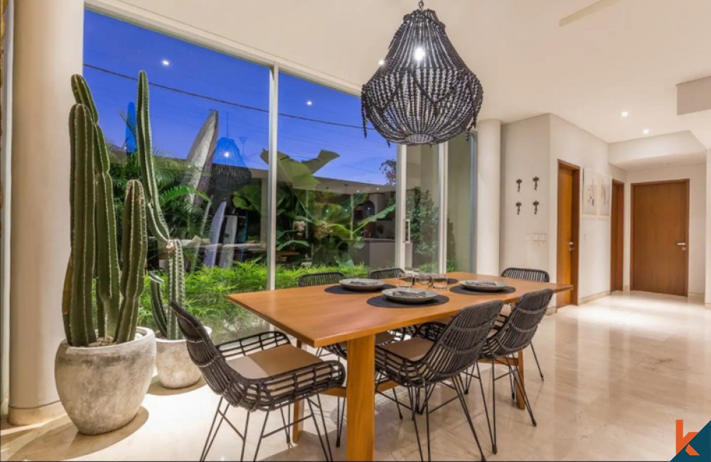 Amazing Four Bedrooms Villa with Rice Paddies View for Sale in Echo Beach