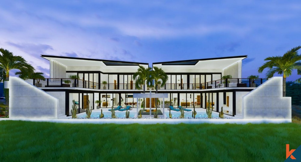 Amazing Contemporary Off-Plan Leasehold Villa in Kedungu for Sale