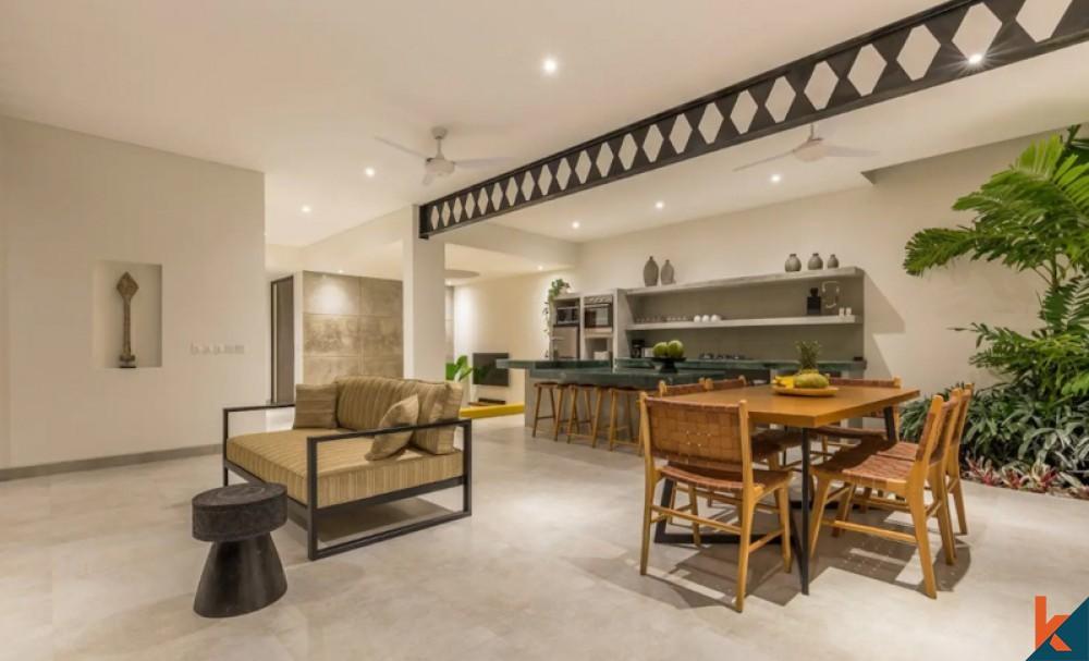 Perfect Modern Three Bedrooms Villa for Sale in Berawa