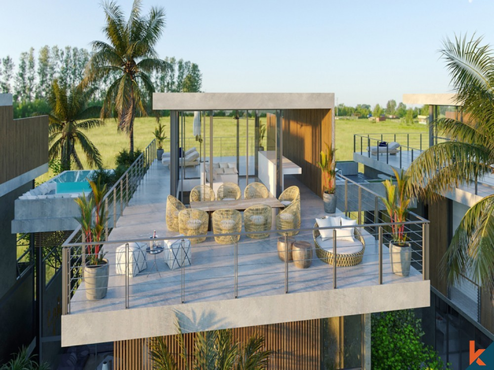 Amazing Luxury Upcoming 4 Bedrooms Dream Villa in Pererenan for Sale
