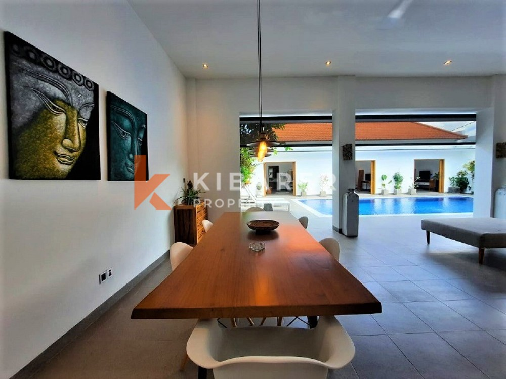 AMAZING THREE BEDROOMS OPEN LIVING VILLA IN KEROBOKAN