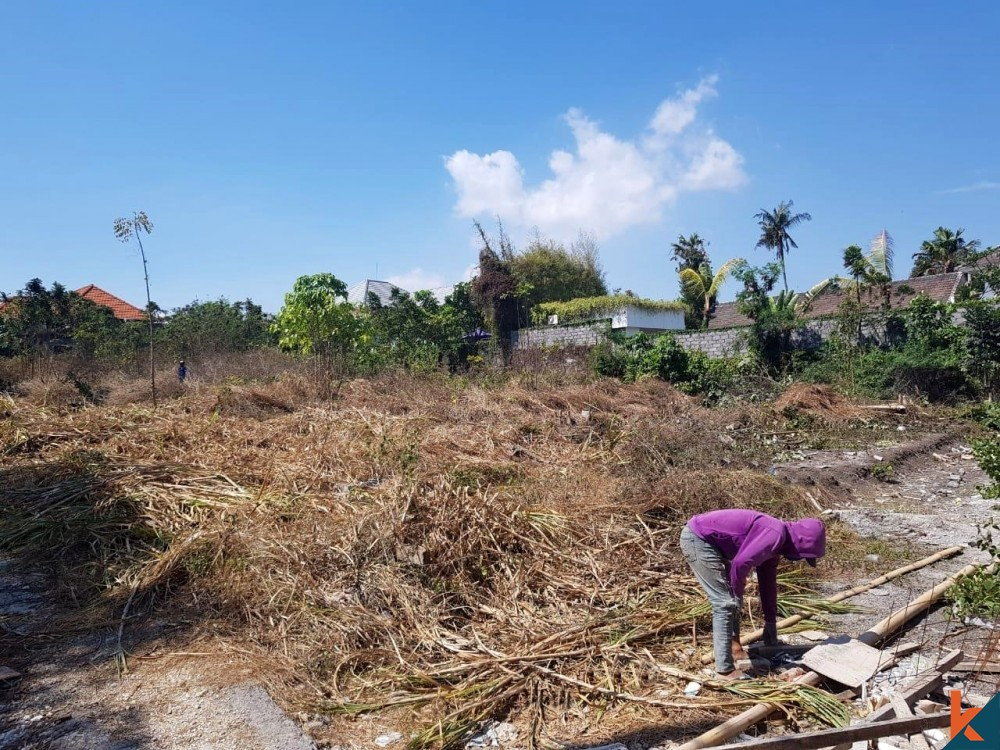 Ready to Build Long Lease Land in Umalas for Sale