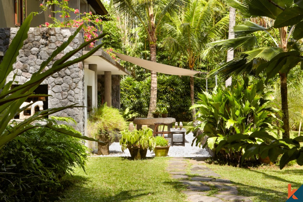 Luxurious Tropical Jungle Two Level Villa for Sale in Ubud