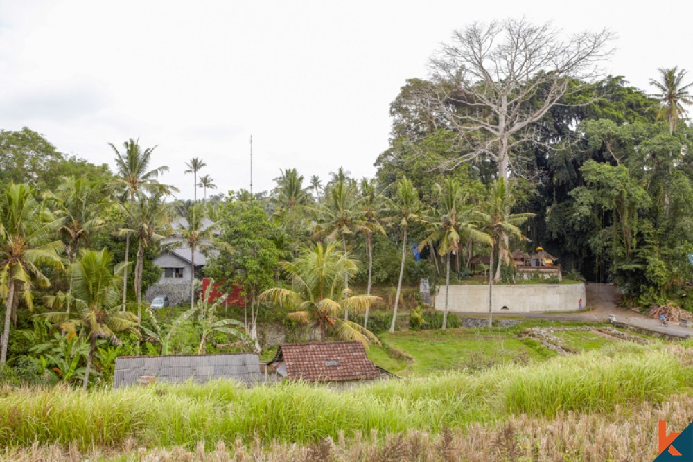 Villa de luxe sur deux niveaux dans la jungle tropicale à vendre à Ubud