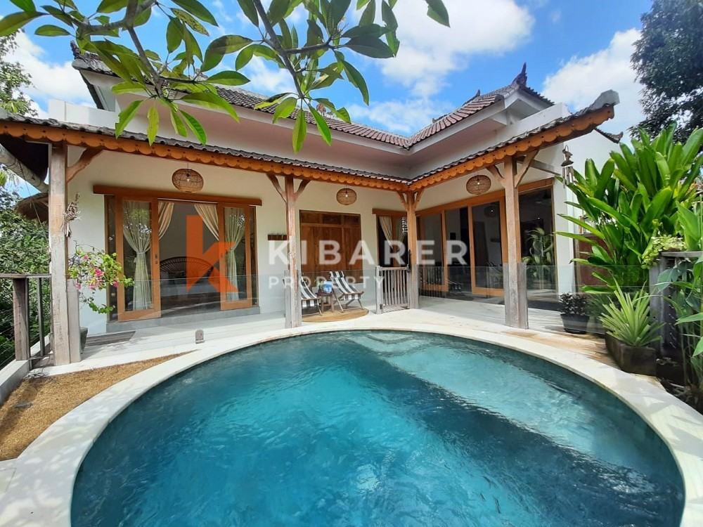 Stylish Two Bedroom Villa in quiet area in Pererenan ( will be available on 1st August 2021 )